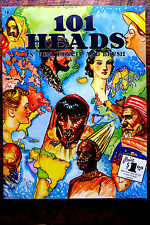 WALTER FOSTER Painting Book   101 HEADS, PENCIL,PEN & BRUSH   #16