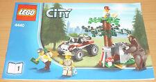Lego City 1 Bauanleitung für 4440 nur Teil 1