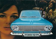 Ford Taunus 12M 1969-70 UK Market Sales Brochure Saloon Coupe Station Wagon