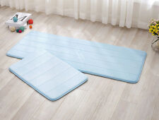 New 4 Size Absorbent Memory Foam Bathroom Carpets Bath Mats Non-slip Rug Mats