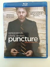 Puncture Blu-ray starring Chris Evans Mark Kassen Brett Cullen Kate Burton