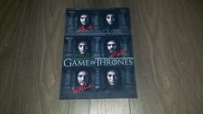 """GAME OF THRONES PP SIGNED 12X8"""" A4 PHOTO POSTER MANY FACED GOD KIT HARRINGTON S6"""