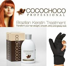 COCOCHOCO BRAZILIAN KERATIN TREATMENT BLOW DRY HAIR STRAIGHTENING 250ML KIT + HG