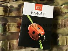 INSECTS GUIDE New Collins Gem Bushcraft Survival Insect Bugs Pocket Nature Book