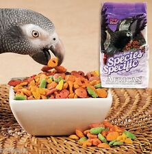 PRETTY BIRD SPECIES SPECIFIC AFRICAN GREY COMPLETE PARROT FOOD ( NO SEED) 1.36K