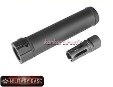"Airsoft SF Style 6.72"" Quick Detach Barrel Extension w/ Flash Hider 14mm CCW"