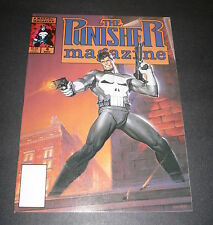The Punisher Magazine Vol.1 #4 South American Connection Marvel Comics Dec 1989