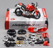Maisto 1:12 Ducati Monster 696 Assembly line kit Motorcycle Bike Model Toy