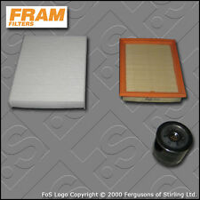 SERVICE KIT FORD FUSION 1.4 16V FRAM OIL AIR CABIN FILTERS (2002-2012)