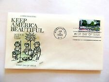 """January 16th, 1969  Commemorating """"Keep America Beautiful"""" 1st Day Issue"""