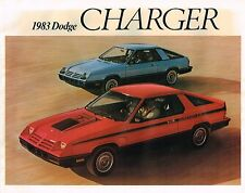 1983 DODGE {Canada} CHARGER Brochure / Flyer: 2.2,   Canadian