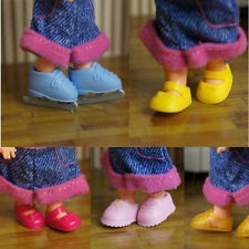 2016 cool  High quality Original 5 pairs shoes for barbie sister kelly doll a95