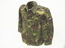 DPM camouflage Dutch army surplus combat uniform field shirt 36 to 38 regular