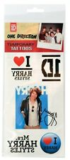 One Direction 'Harry Styles' Temporary Tattoos Brand New