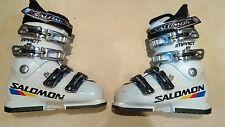 Kids Salomon Impact Junior Ski Boot - white Size Mondo 22 (UK 4)