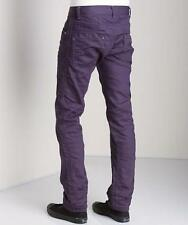 New with Tag - $195.00 Diesel Darron Purple Straight Leg Jeans Size 32x32
