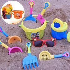 9pcs Sand Shovel Spade Bucket Rake Beach Pit Play Kids Seaside Water Tools Toys