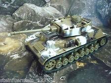 Juguetes-tanques con motor de retracción, tarnfarben marrón, 12,5x 5,5 x 4,7 metal nuevo