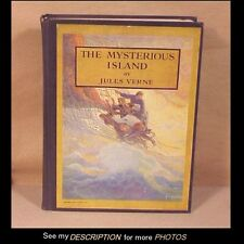 Jules Verne Book The Mysterious Island Illustrated by NC Wyeth