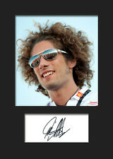 MARCO SIMONCELLI #1 Signed Photo A5 Mounted Print - FREE DELIVERY