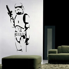 Stormtrooper Star Wars Wall Sticker Vinyl Mural Removable Decals DIY Home Decor