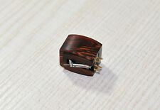 Closed wood body for DENON dl103 dl103r CARTRIDGE TESTINA Cocobolo Wood