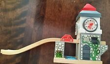 SODOR CLOCK TOWER BRIDGE THOMAS TRAIN WOODEN DRAWBRIDGE & TRACK