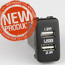 Toyota Prado Dual USB charger kit full Plug & Play version Prado USB charger DIY