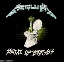 METALLICA cd lgo METAL UP YOUR ASS Official SHIRT XXL 2X New vin