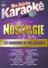 Mes Soirées Karaoke : Nostalgie / Les chansons de vos légendes vol. 1 (DVD)