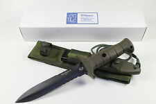 SUPERB GERMAN EICKHORN RECONDO IV. COMBAT KNIFE MADE IN GERMANY INCL.SHEATH *HOT