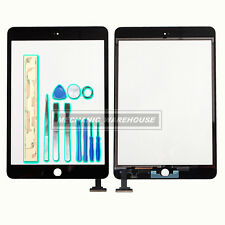 For iPad mini 1st &2nd Black Touch Screen Digitizer Front Glass Lens Replacement