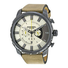 Diesel Stronghold Taupe Dial Chronograph Mens Watch DZ4354