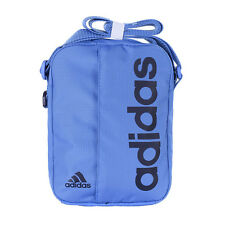 Adidas Performance Mini Bag Small Linear Messenger Shoulder Item Bag Blue BNWT