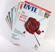 BYTE - Vintage Computer Magazine COMPLETE SET of All 12 Issues 1989 + Special