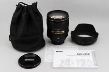 "#1234""""""Mint"""""" Nikon AF-S NIKKOR 24-120mm f/4 G VR N ED from JAPAN"