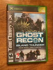 Tom Clancy's Ghost Recon: Island Thunder (Microsoft Xbox, 2003) mint