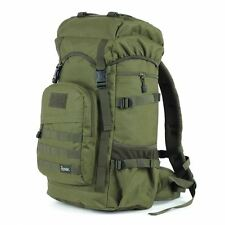 50L ROGISI Rucksack Camping Bag Outdoor Water-Proof Backpack BN-017 Green