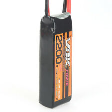 New XT60 Discharger Plug VOK 11.1V 2200mAh 25C 3S Lipo Battery for RC Drone
