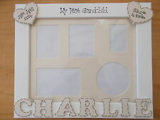 Personalised My First Grandchild Gift Photo Frame 10x8 QUICK POSTAGE