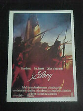 GLORY, film card [Matthew Broderick, Denzel Washington, Cary Elwes]