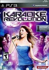 Karaoke Revolution PlayStation 3 PS3