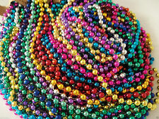 400 Multi Color Mardi Gras Beads Necklaces Party Favors Big Lot Free Shipping