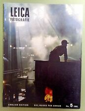 1965 LEICA MAGAZINE Vintage Photography GERMANY MEN WORK  Nuttgens c Fotografie