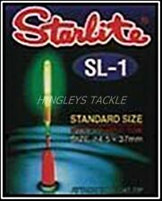 Starlite Rod Tip Lights for Fishing x 10 SL-1 Yellow Large