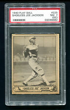 1940 Play Ball Shoeless Joe Jackson #225 PSA 7 o/c SP Black Sox Baseball Card