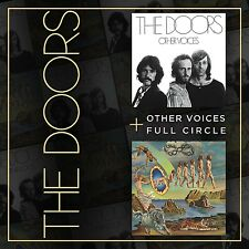 THE DOORS - OTHER VOICES/FULL CIRCLE 2 CD NEU