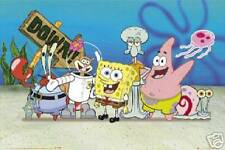 New! Sponge Bob Group Picture 24x36 Fine Art Print Poster Home Wall Decor 4076