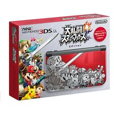 Nintendo 3DS LL XL_Super Smash Brothers_ Japan_Limited Model