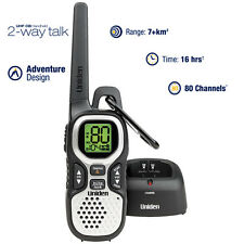 Uniden UHF 1 Watt CB Handheld 2-way radio - 80 UHF Channels - Range Extender Dup